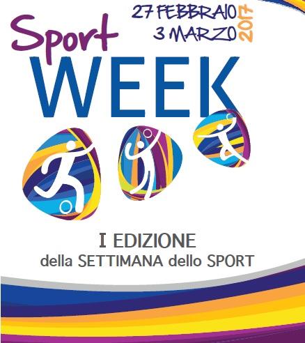 SPORTWEEK – I edizione della settimana dello sport